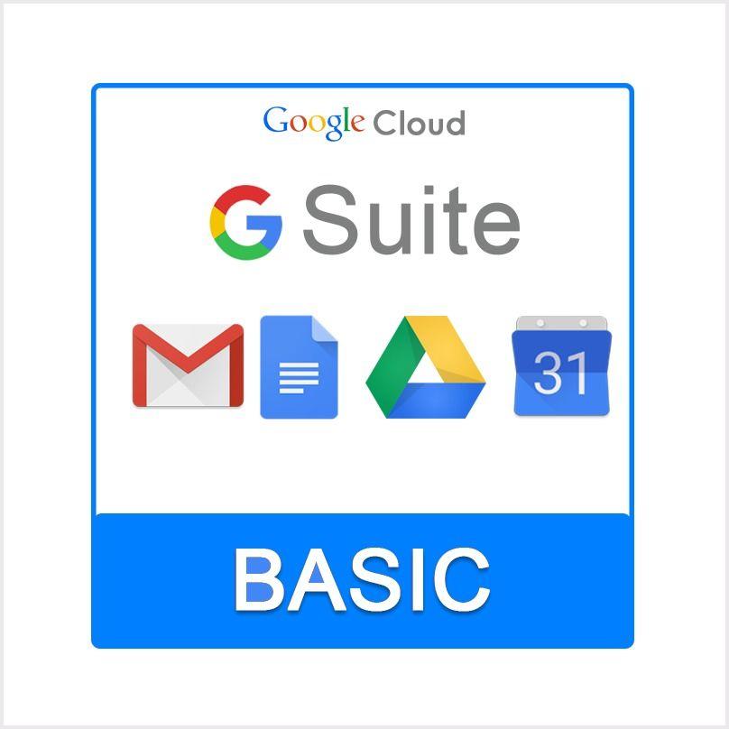 Google G Suite Basic Plan (1 User) - 1 Year