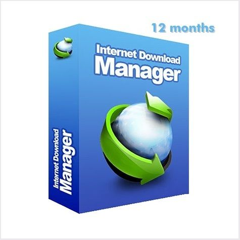 Internet Download Manager (IDM) 1PC License   12 Months Subscription
