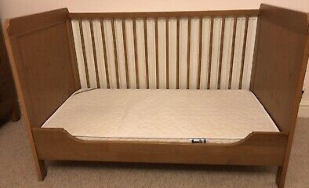 IKEA adjustable baby cot