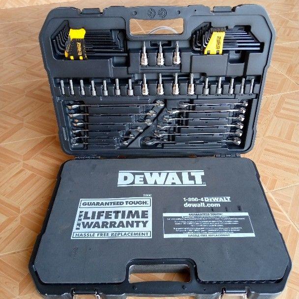 173pcs DeWalt Mechanic Tools Set