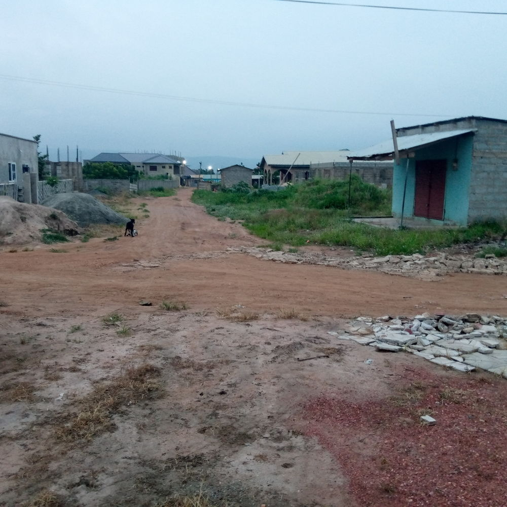 Titled Certificate 2 Plots of Walled and Gated Land for Sale at Oyibi