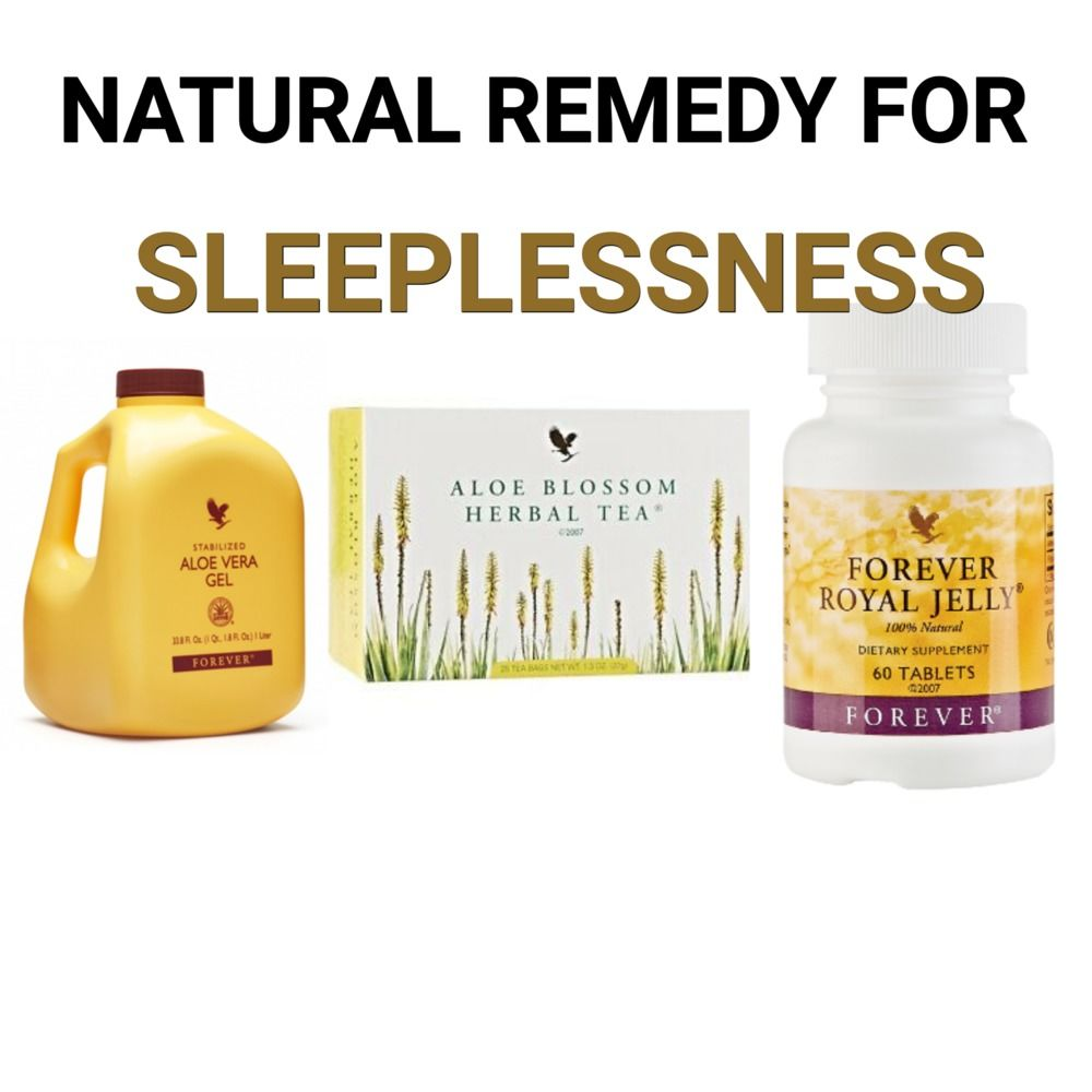 Natural remedy for sleeplessness