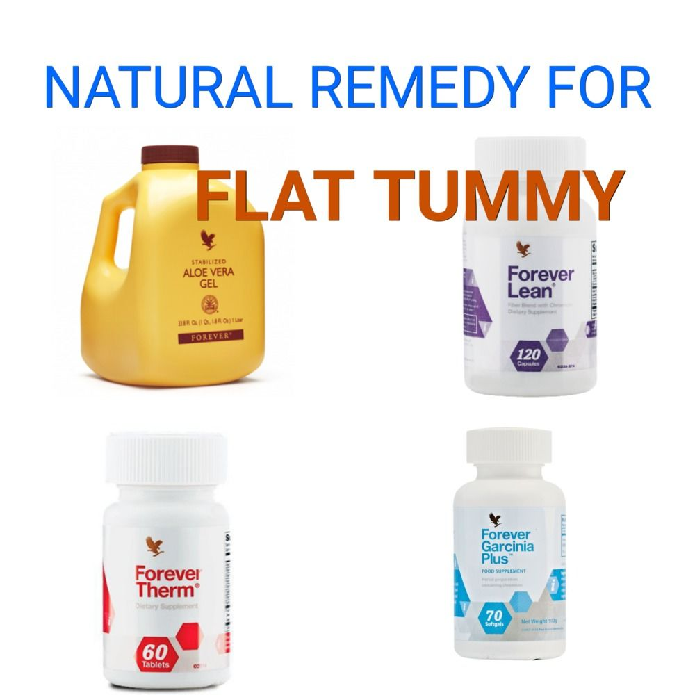 Natural remedy for flat tummy