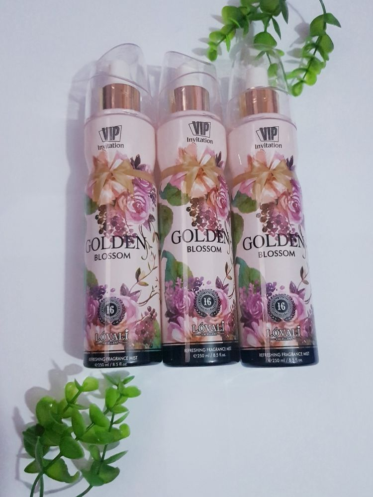 Golden Blossom Lovali body splash