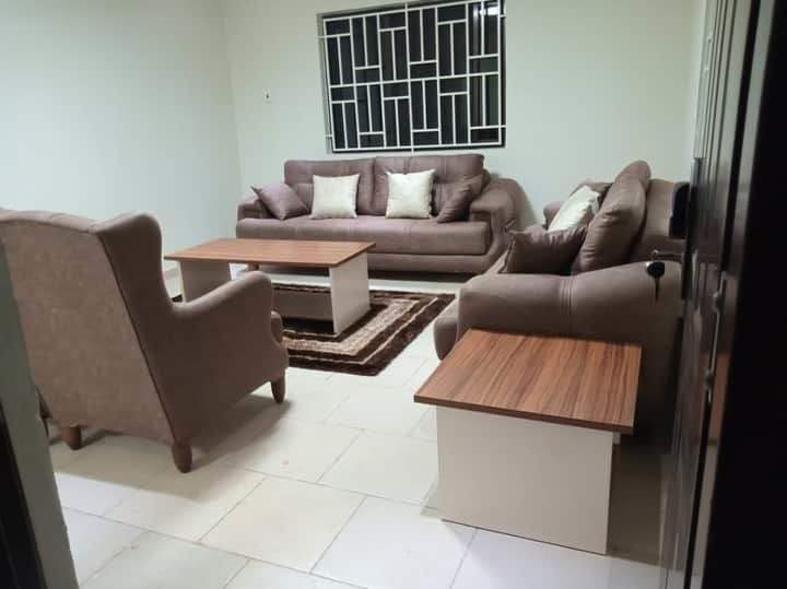 Furnished house for rent Three Bedroom Furnished House Available For Rent inside Devtraco, Community 25 Price : $600 ghs 3,463 Duration : Six months - One Year