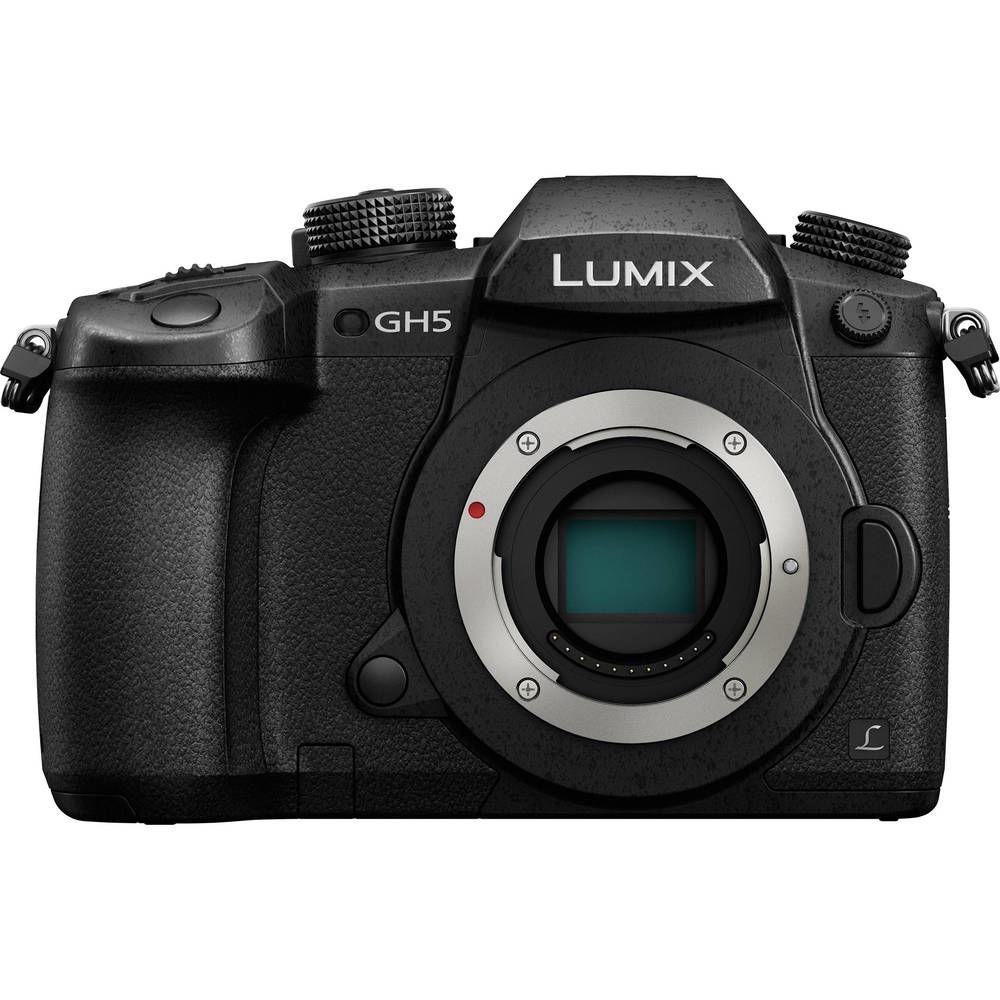 Panasonic Lumix GH5 4K Digital 20.3 Megapixel Mirrorless Camera Body Only