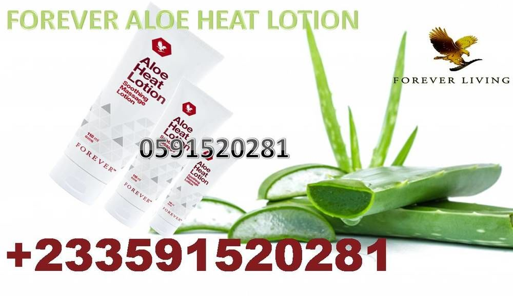 WHERE TO BUY FOREVER ALOE HEAT LOTION IN GHANA
